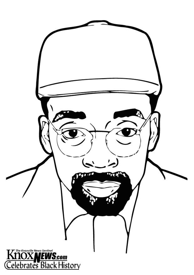 Coloring page Spike Lee - img 12865.