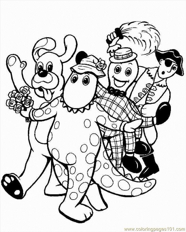 Coloring Pages Wiggles (4) (Cartoons > Others) - free printable