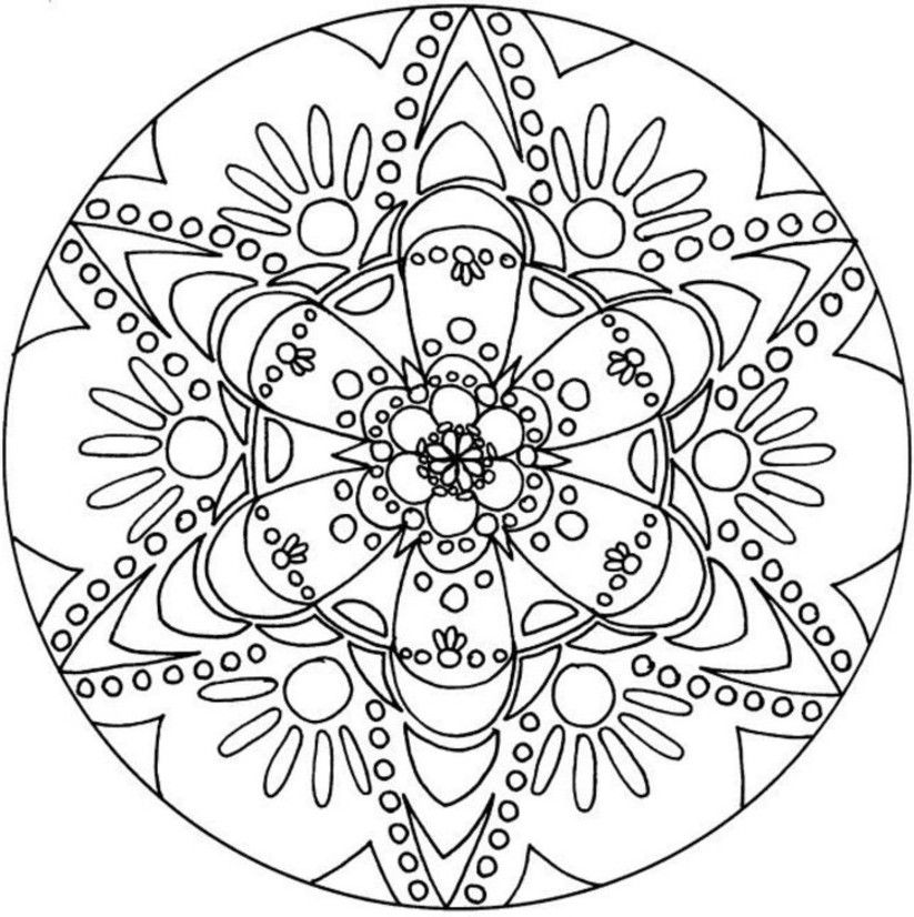 detailed coloring pages for free - photo#29