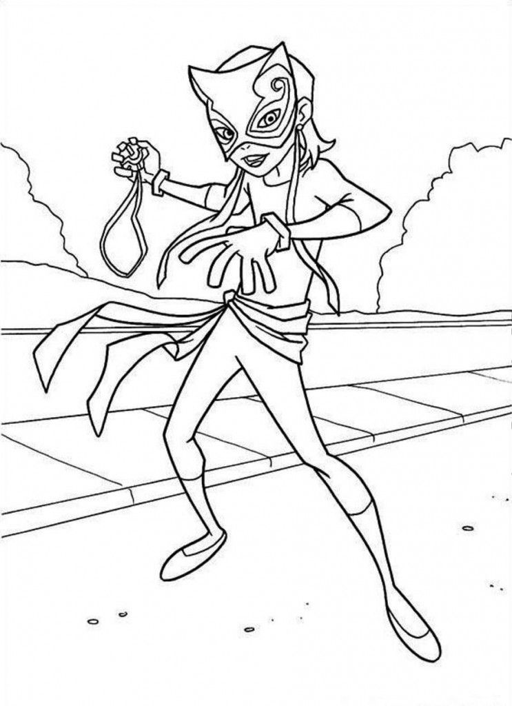 Catwoman coloring page az coloring pages for Catwoman printable coloring pages