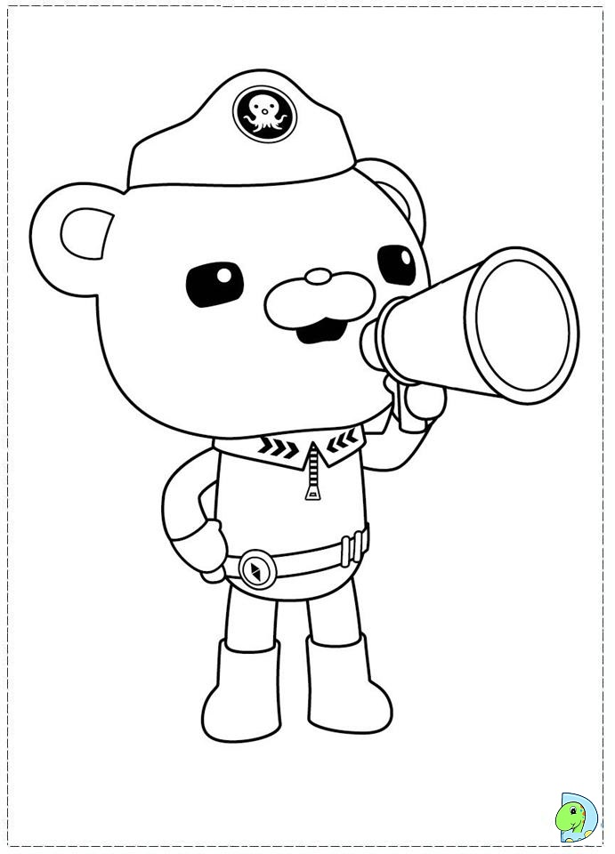octonauts coloring page az coloring pages
