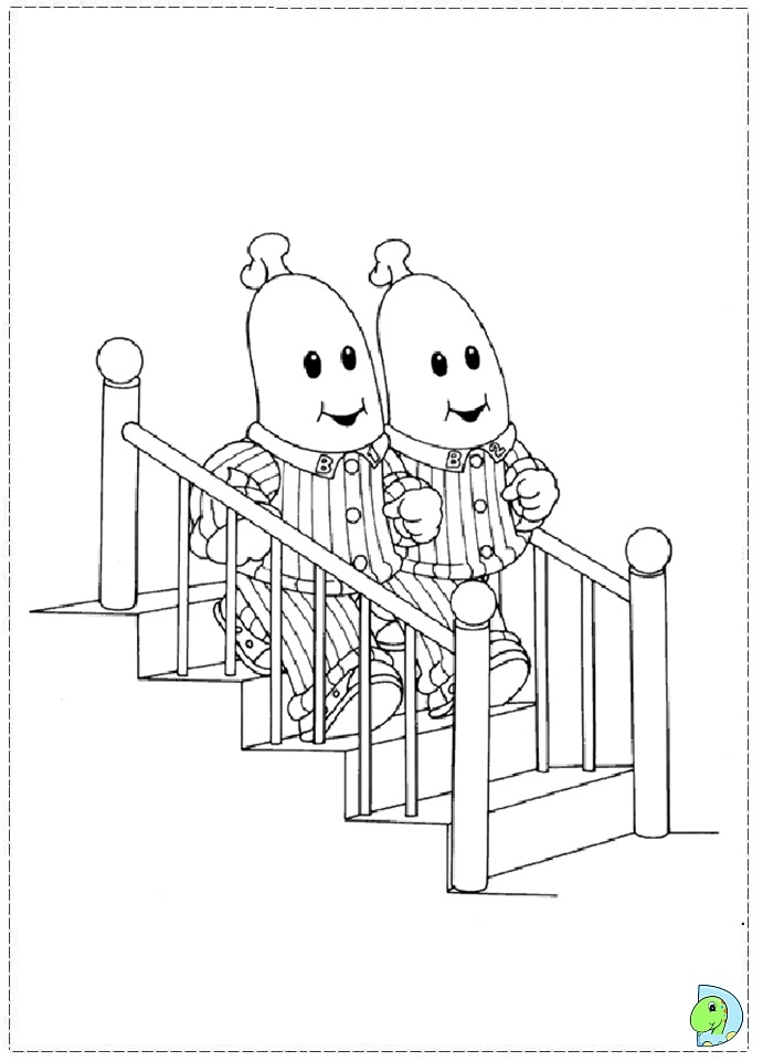pajamas in the morning coloring pages - photo #31