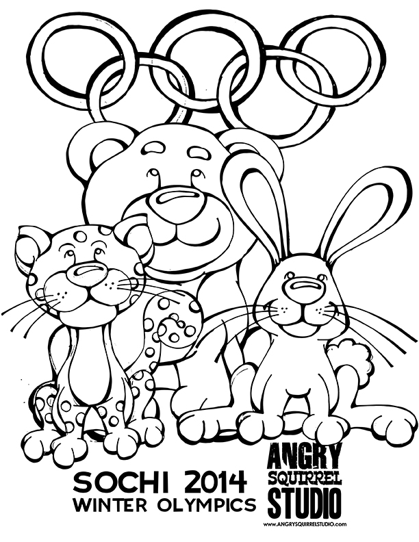 coloring pages olyimpics - photo#32