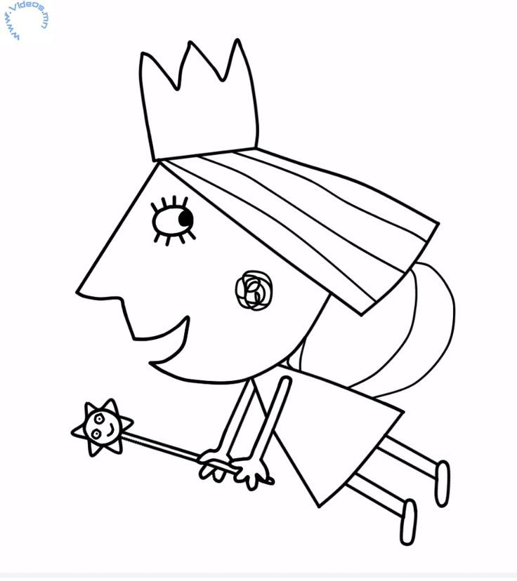 coloring pages holly - photo#31