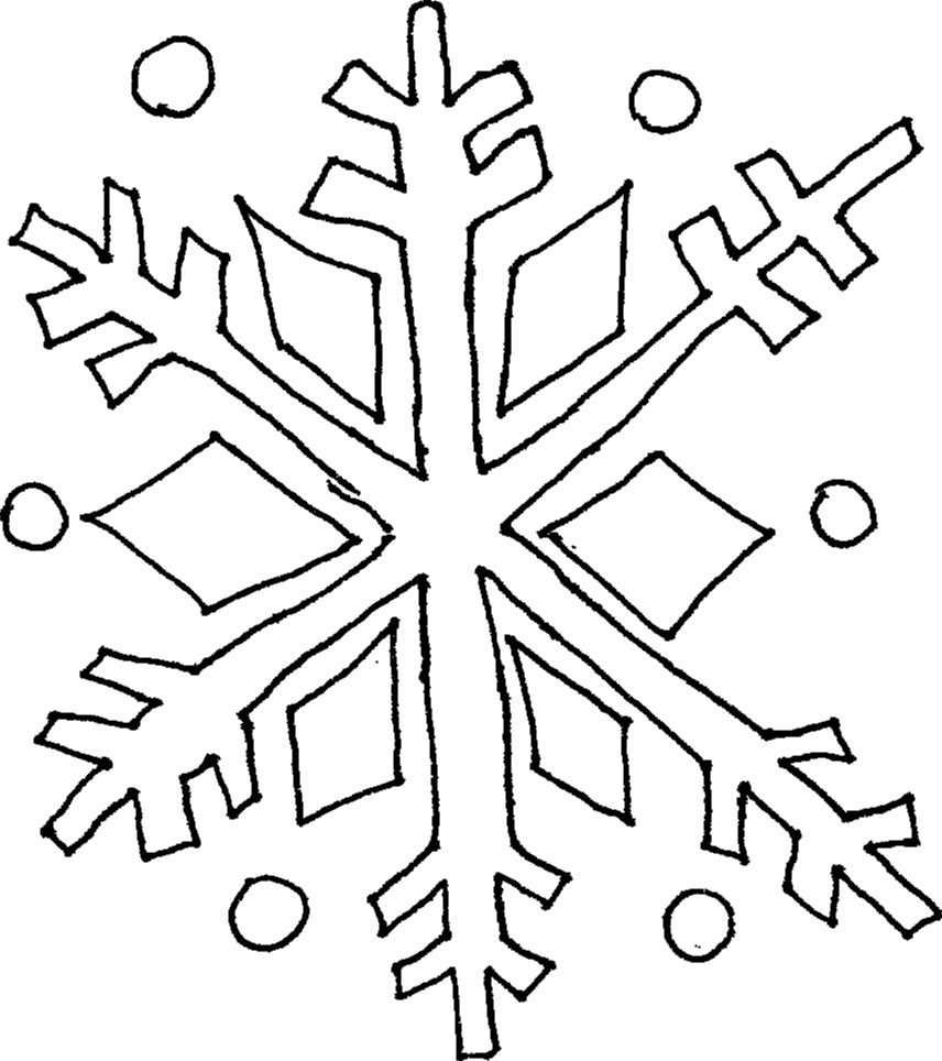 Simple Holiday Designs Snowman Coloring Pages