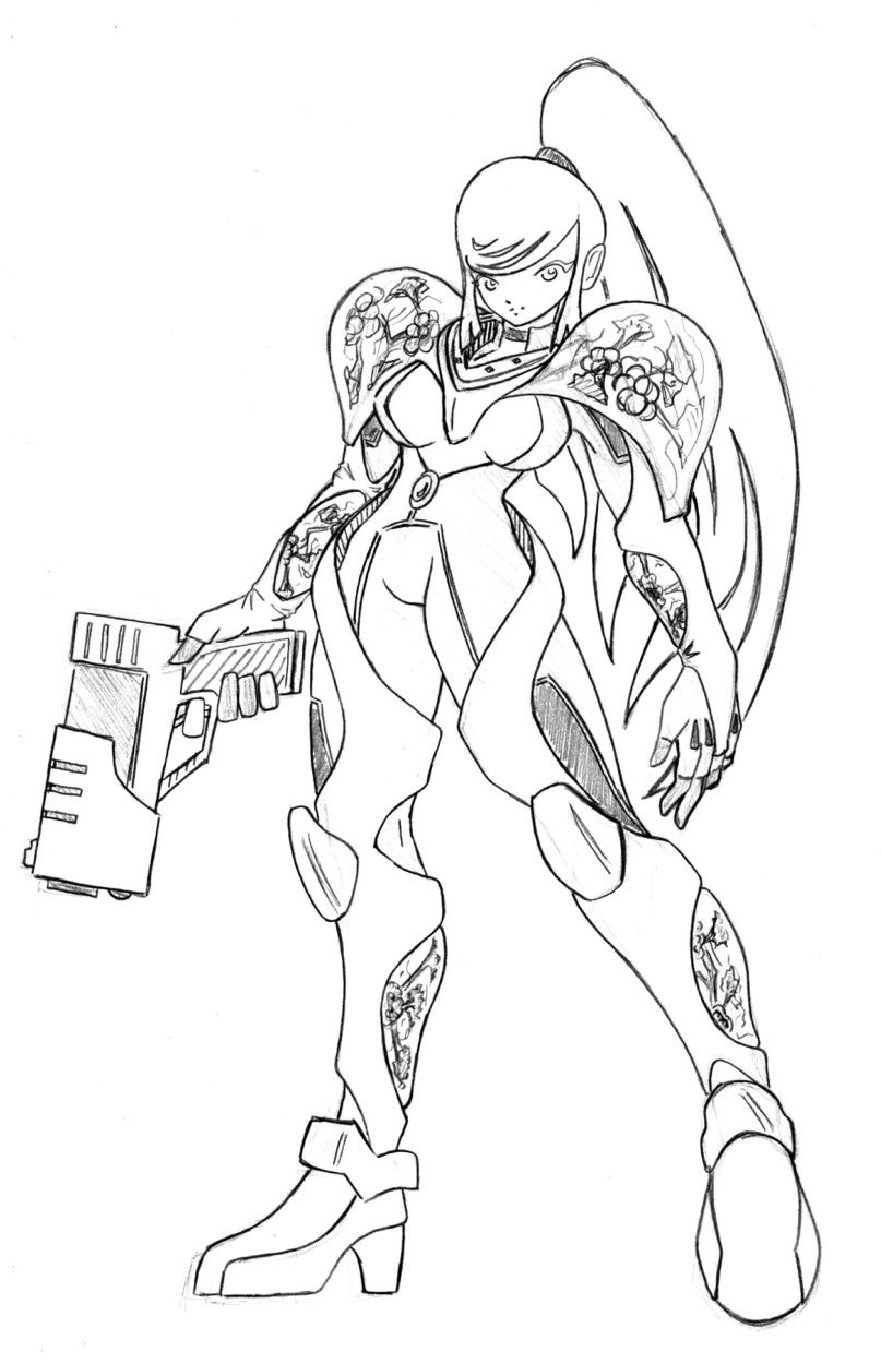 Samus+ metroid by N647 on DeviantArt
