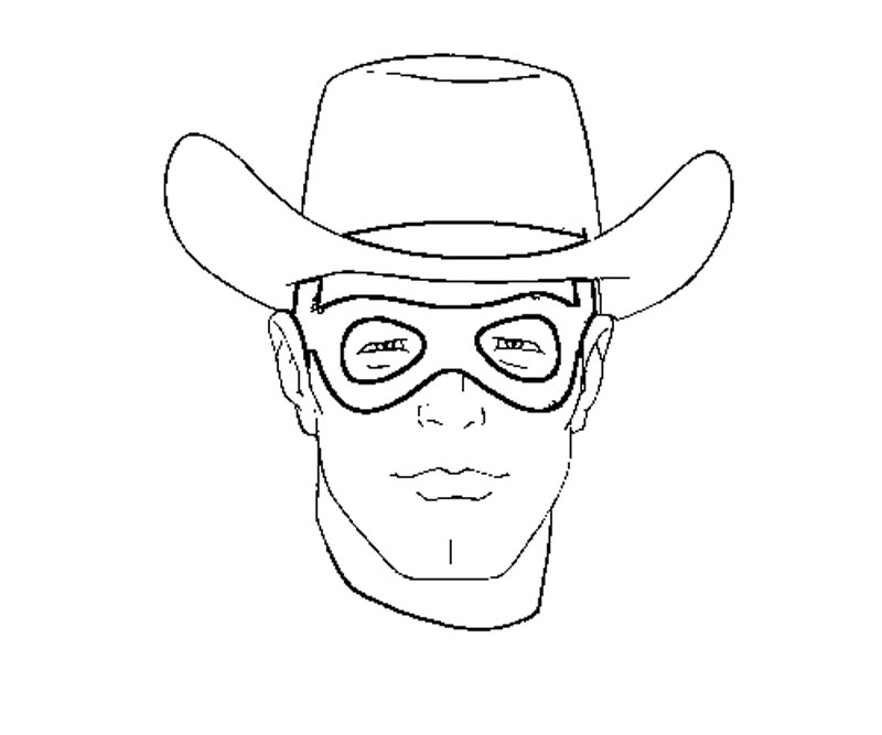 lone ranger lego coloring pages - photo#13