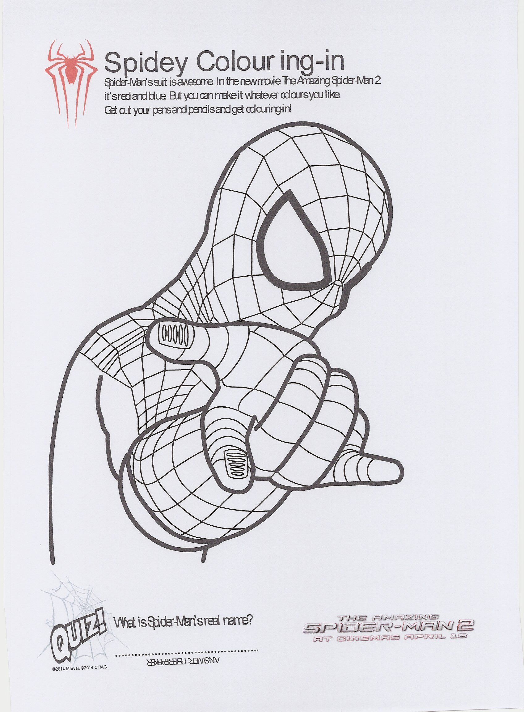 amazing spider man 2 coloring pages high quality coloring pages