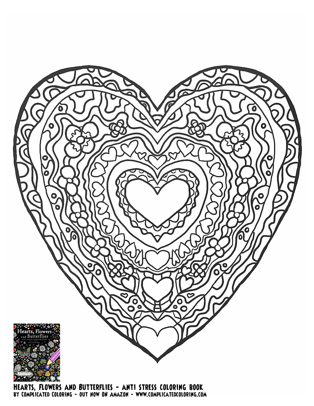 butterfly heart coloring pages for adults coloring pages for all