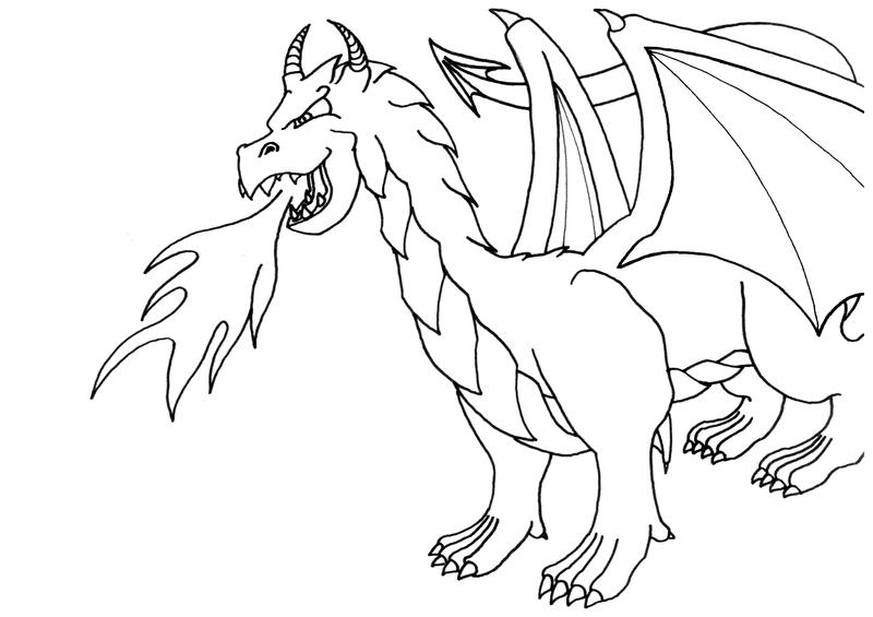 Dragon city coloring pages