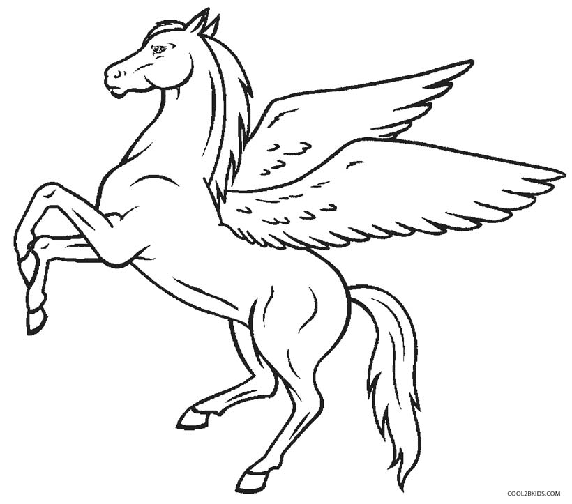 free fun coloring pages myths - photo#29