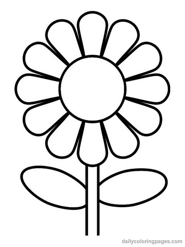 - Free Flower Petals Coloring Pages - Coloring Home