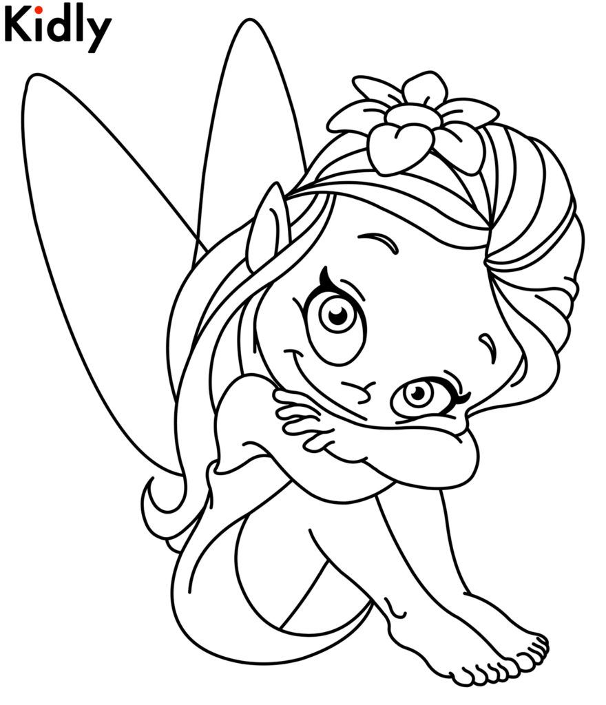 Coloring Pages: Fairy Coloring Pictures Free Fairy Coloring Pages ...