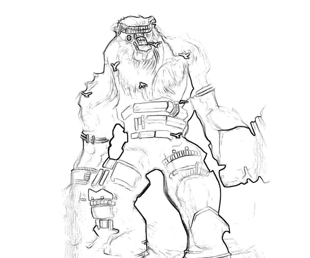 colossal juggernaut coloring pages coloring home