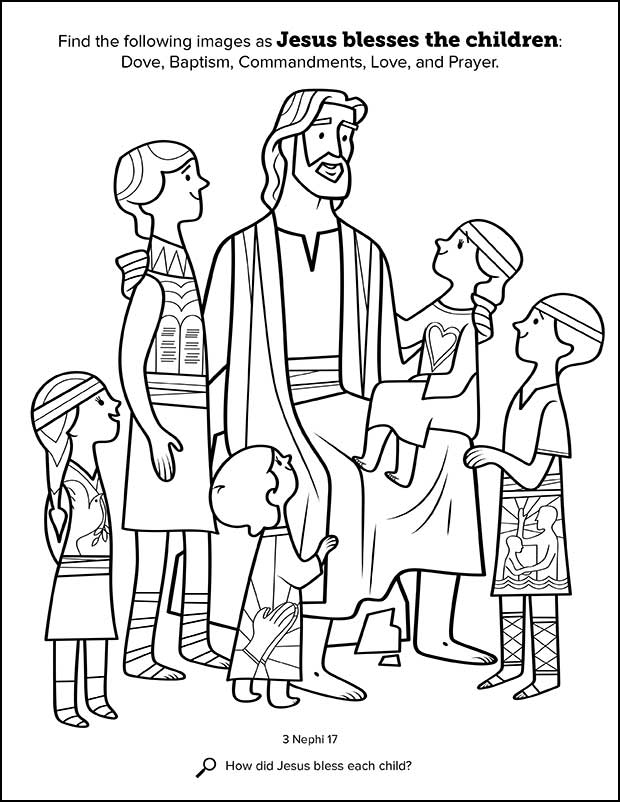 tell everyone jesus loves them coloring pages