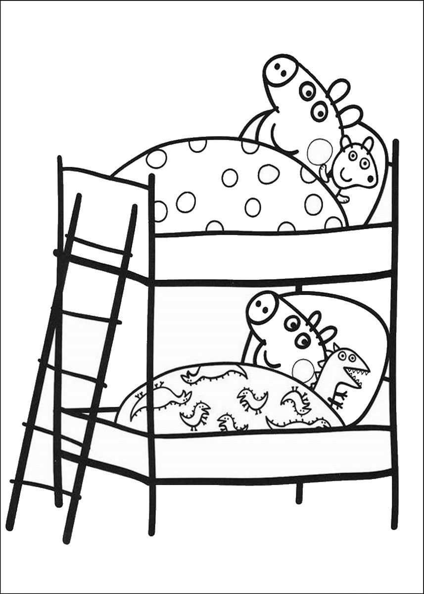 peppa pig coloring pages u20ac birthday printable coloring home