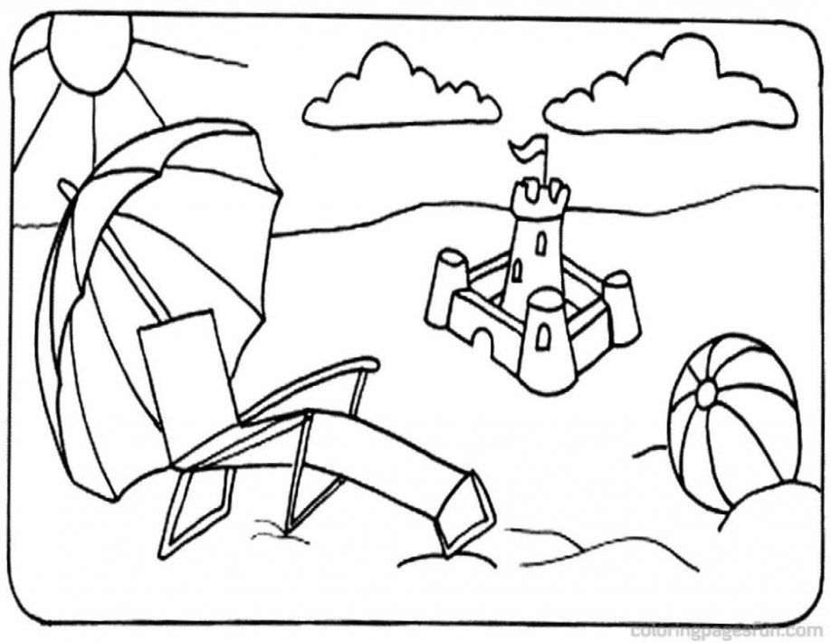 Beach Coloring Pages For Adults Printable Beach Coloring Pages Coloring Home