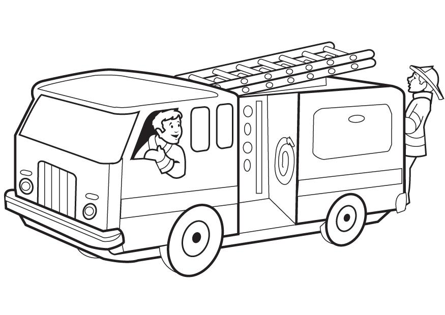 Fire Safety Coloring Pages (17 Pictures) - Colorine.net | 6398 ...
