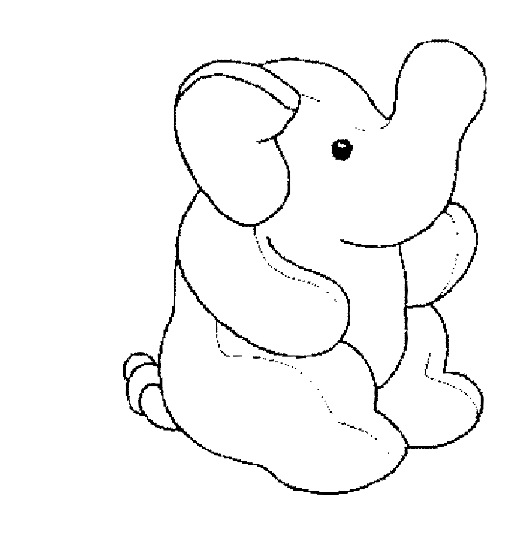Elephant And Piggie Coloring Pages Printable Kids