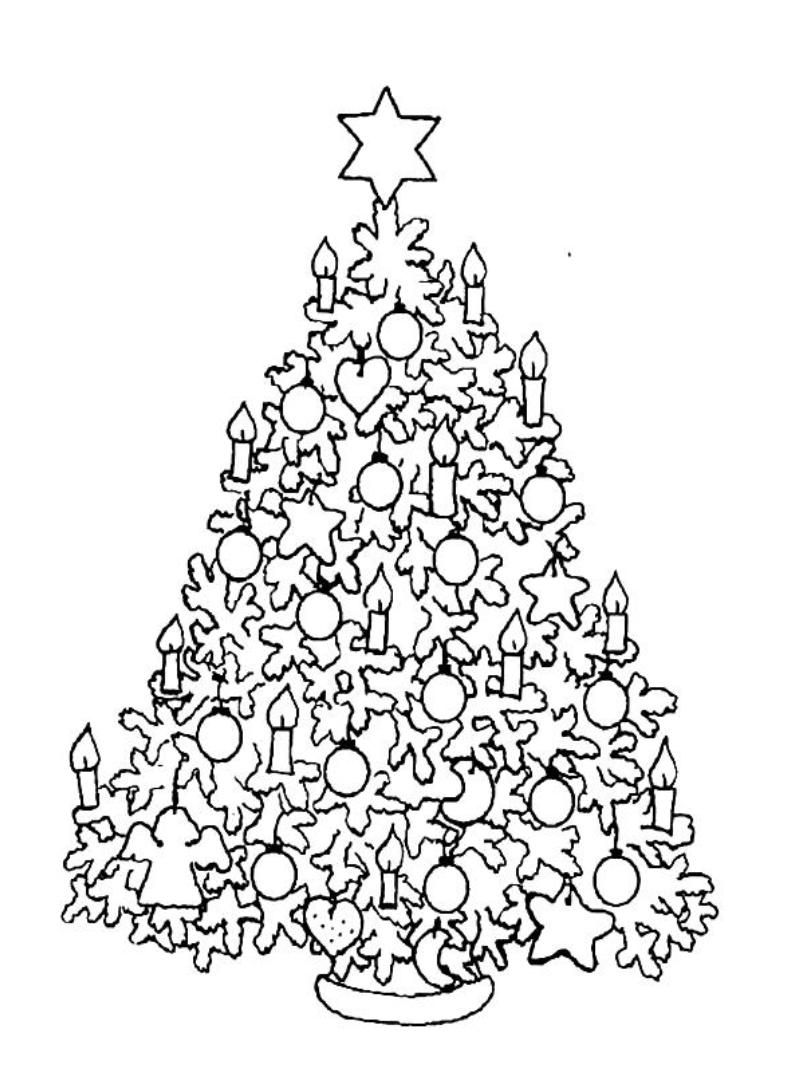 Difficult Coloring Pages Christmas Printable Coloring Pages
