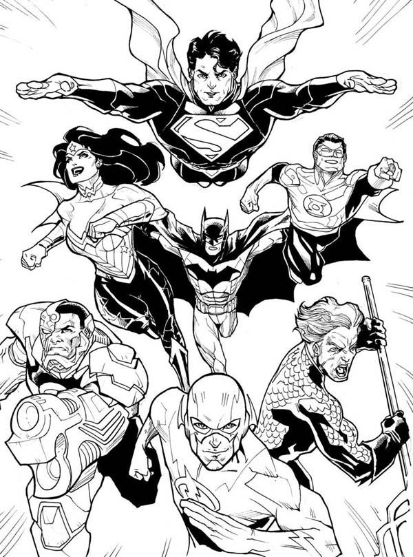 dc comics batman coloring pages - photo#25