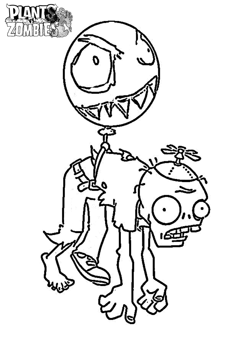 plants vs zombies coloring book coloring pages for kids and for