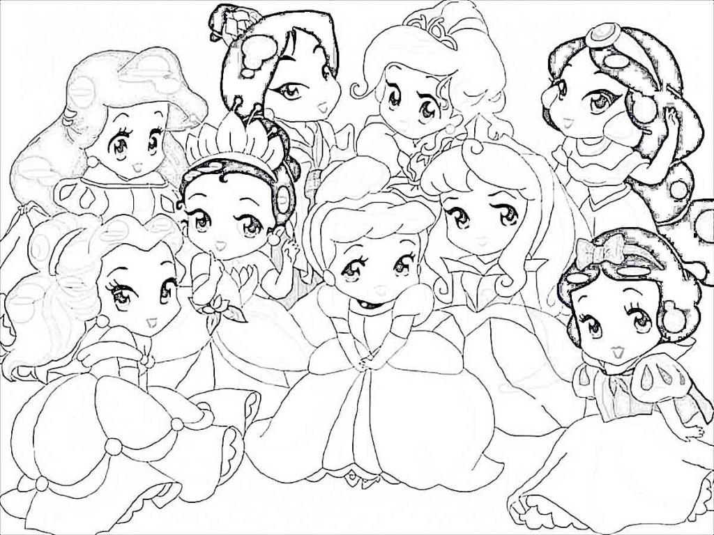 - Little Disney Princess Coloring Pages - Coloring Home