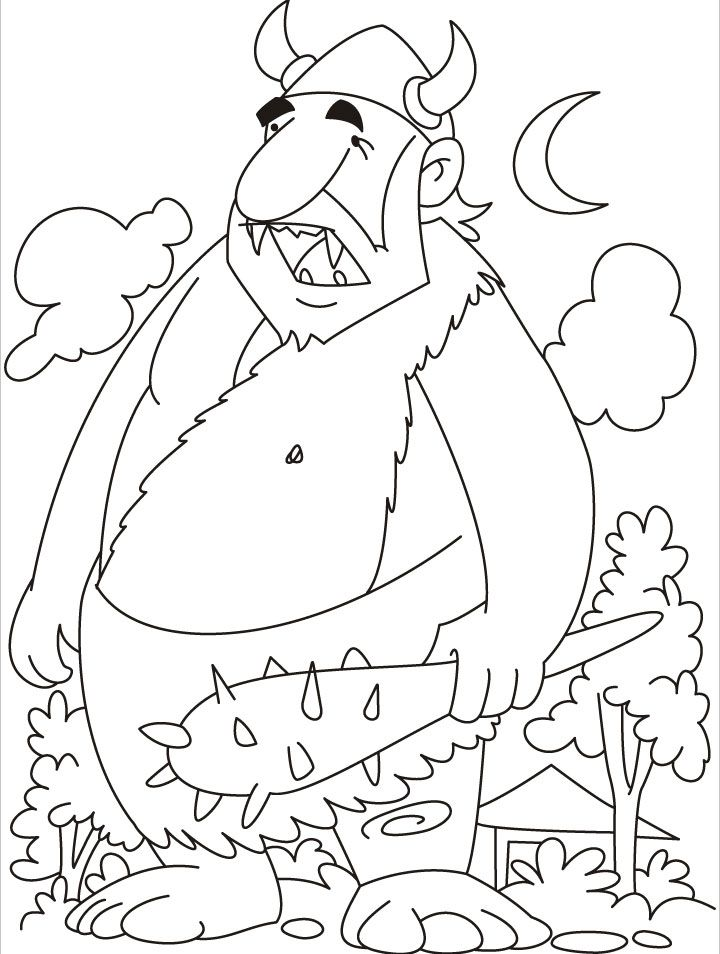 Giant Coloring Page Coloring