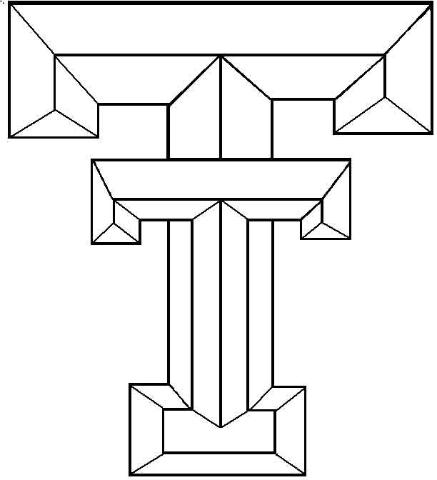 coloring pages texas tech football - photo#1