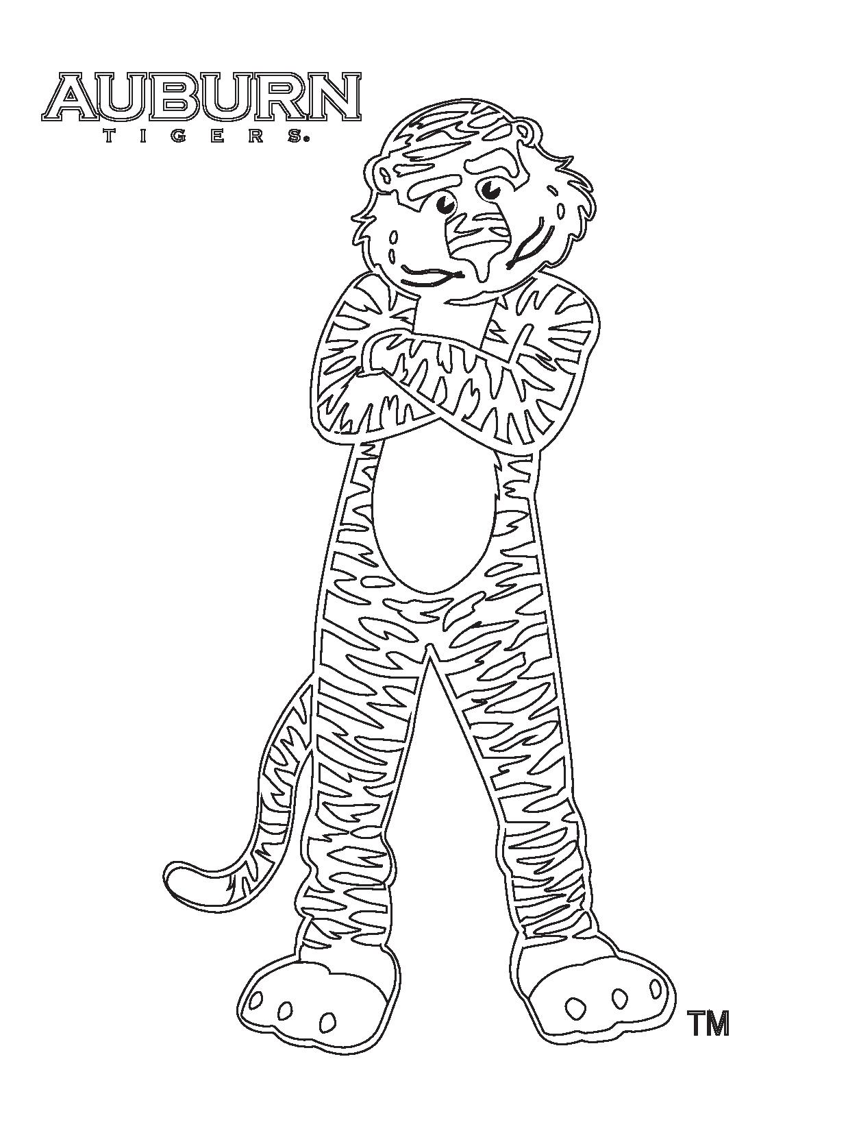 Auburn Coloring Pages Az Coloring Pages Auburn Coloring Pages