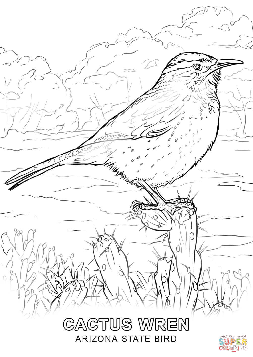 az cardinals coloring pages - photo #22