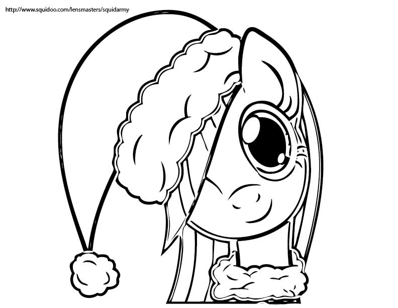 christmas coloring pages for girls - photo#18