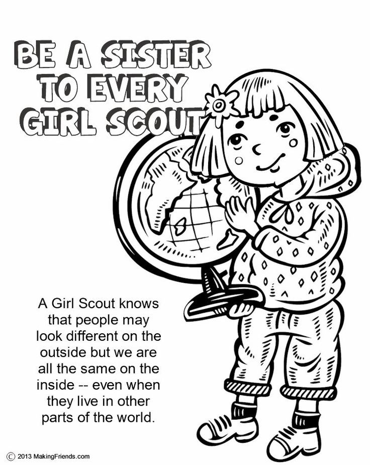 responsibility coloring pages - photo#24