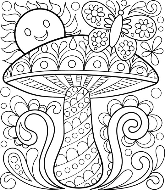 Amazing Relaxing Coloring Sheets €� Azspring - Coloring Home