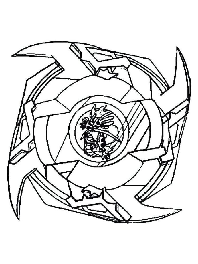 Beyblade Burst Coloring Pages - Coloring Home