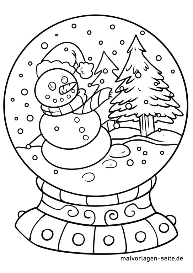 Coloring Snow Globe Winter Free Snowman Pdf Malvorlage Schneekugel 5th Math  Worksheets Inch Squared Paper Multiplying And Dividing Decimals 6th Grade  Year Three Games Snowman Coloring Pages Pdf Worksheets math 3 worksheets