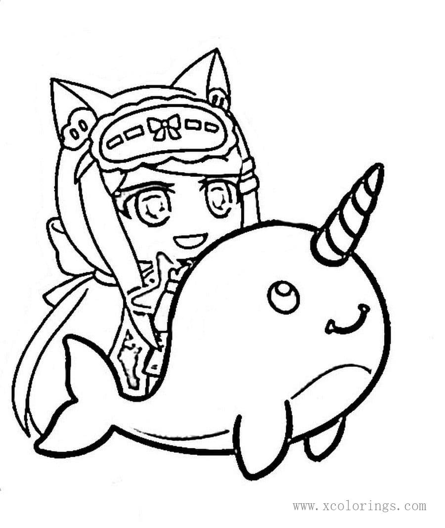 Gacha Life Coloring Pages - Coloring Home