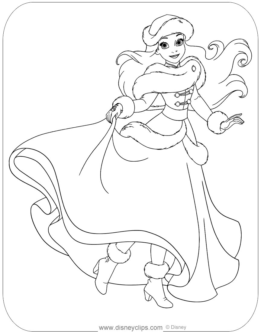 - The Little Mermaid 2 Coloring Pages - Coloring Home