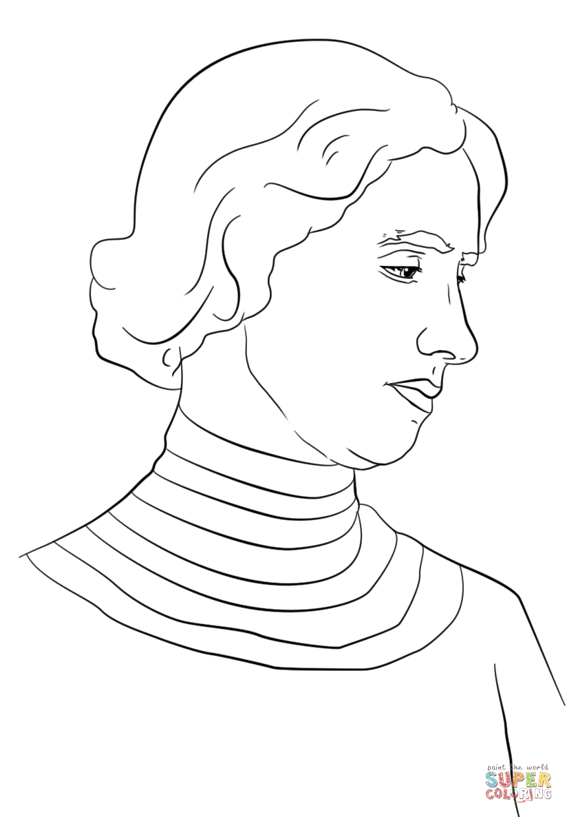 coloring pages of helen keller - photo#2