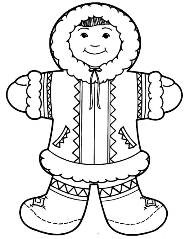 eskimo coloring pages - photo#3