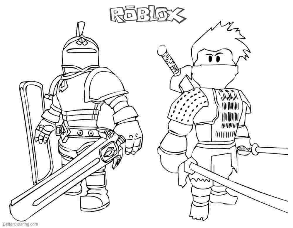 - Roblox Coloring Pages - Coloring Home