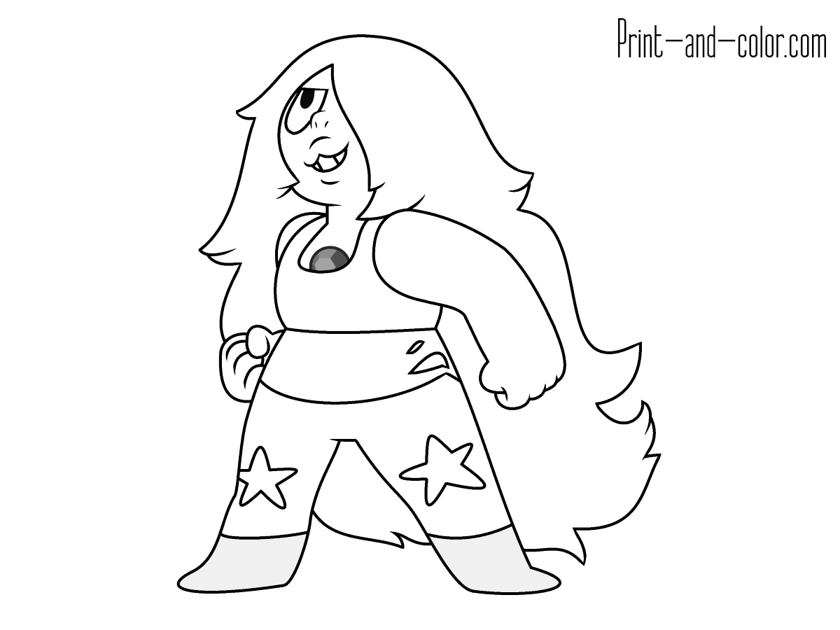 Steven Universe coloring pages | Print and Color.com