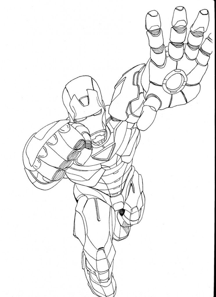 Iron Man 2 Coloring Pages