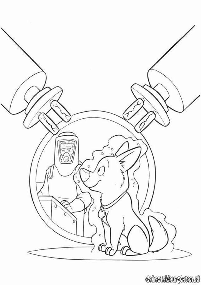 bolt coloring pages for kids - photo#15