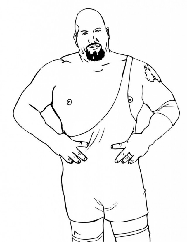 Wwe Wrestlers Coloring Pages X 214899 Wwe Smackdown Coloring Pages