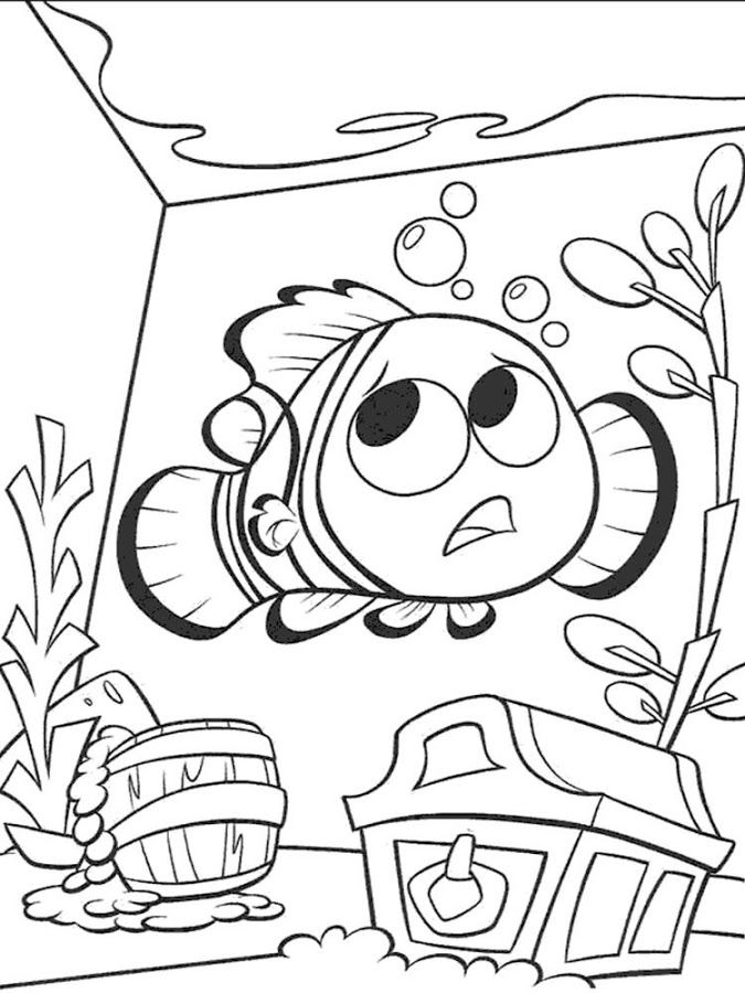 nemo coloring pages images google - photo#31