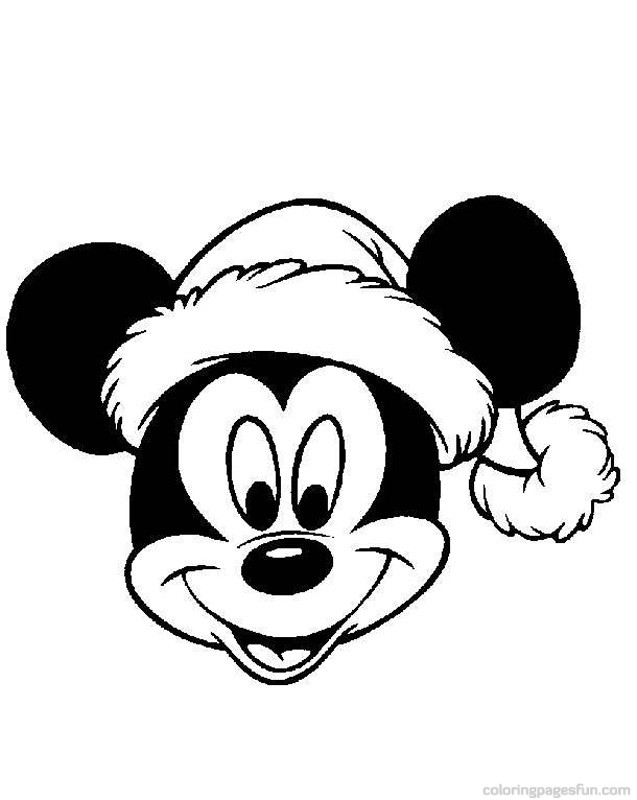 nick christmas coloring pages - photo#35