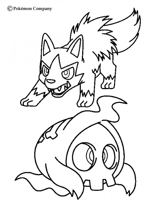 Poochyena Coloring Pages - Coloring Home