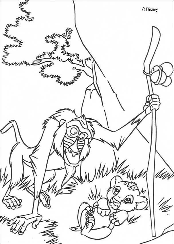lion king disney Colouring Pages (page 2)