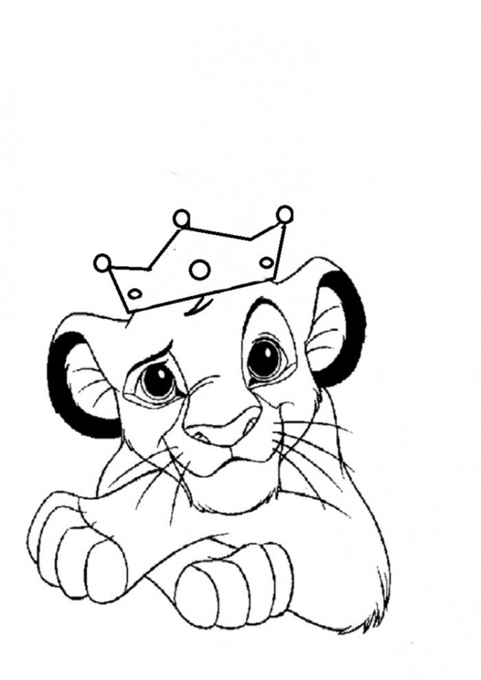 Lion King Coloring Pages For Kids - Coloring Home